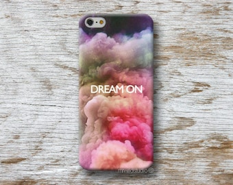 Quote DReam On Phone Case for iPhone 4 4s 5 5s SE 5C 6 6S 7 8 PLUS X iPod Touch 5 6 Oneplus 2 3 5 1+2 1+3 1+5
