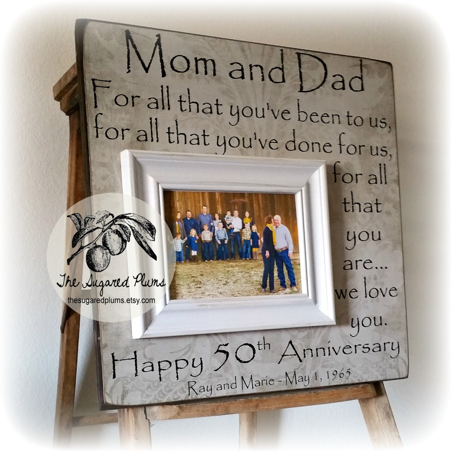 17 Year Wedding Anniversary Traditional Gift: 50th Anniversary Gifts Parents Anniversary Gift For All That