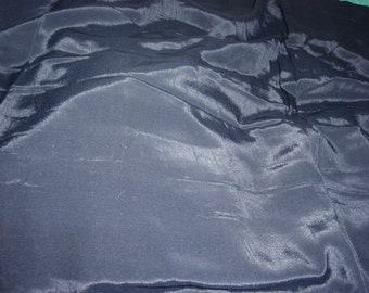 Black Rayon Challis  Fabric 54 Inches Wide Sold by the Yard