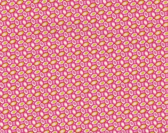 Quilting Fabric By The Yard, Heather Bailey, Freshcut Jellly Bean in Pinky Purple, 100% Cotton Fabric