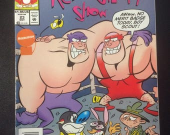 The Ren & Stimpy Show # 23 Comic by Marvel Comics
