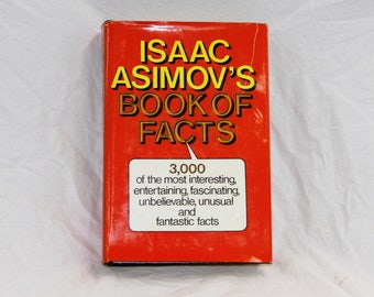 Issac Asmiov's Book of Facts - Vintage 1981