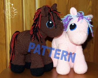 Pony - crochet pattern