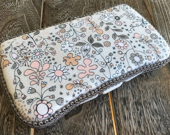Floral Baby Wipes Case, Travel Wipes Case, Small Wipe Case