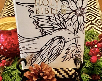Decorative Bible - Holy Spirit Come