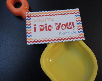 I DIG you Valentine Tag {Digital Item}