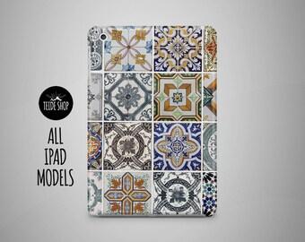 Azulejo Tiles iPad Case Portugal Morocco iPad Mini Case iPad Mini Cover iPad Cover iPad Air Case iPad Sleeve Birthday Gift Idea iPad Case