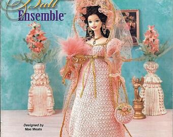 Masquerade Ball Ensemble  Fashion Doll  Crochet Pattern  Annies Attic 871019