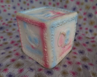 Edward Mobley, Arrow Rubber and Plastics, Animal Cube, squeak toy