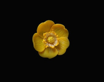 Buttercup Pin Brooch
