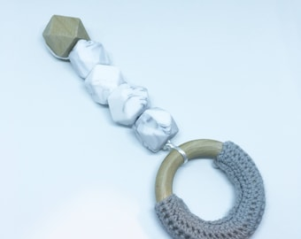 TEETHING toy - Rattle ring