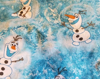 Custom  Olaf Diaper you choose type and size Nb/Sm or Onesize