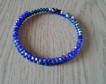 Harmonic Bracelet Shades of Blue
