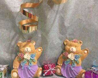Vintage Teddy Bear Refrigerator Magnet's