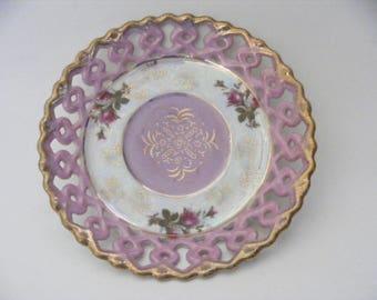 Vintage Japanese China Decorative Plate