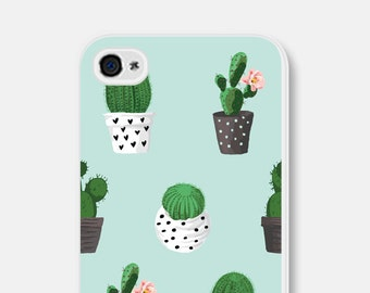 Samsung Galaxy S6 Case iPhone 6 Case iPhone 6s Case iPhone 5 Case iPhone 4s Case Cactus iPhone 5s Case Succulent iPhone 6s Plus Case