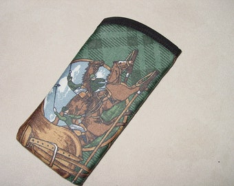 POLO Horse  Eyeglass/Sun glass Cases, Equestrian Glasses cases