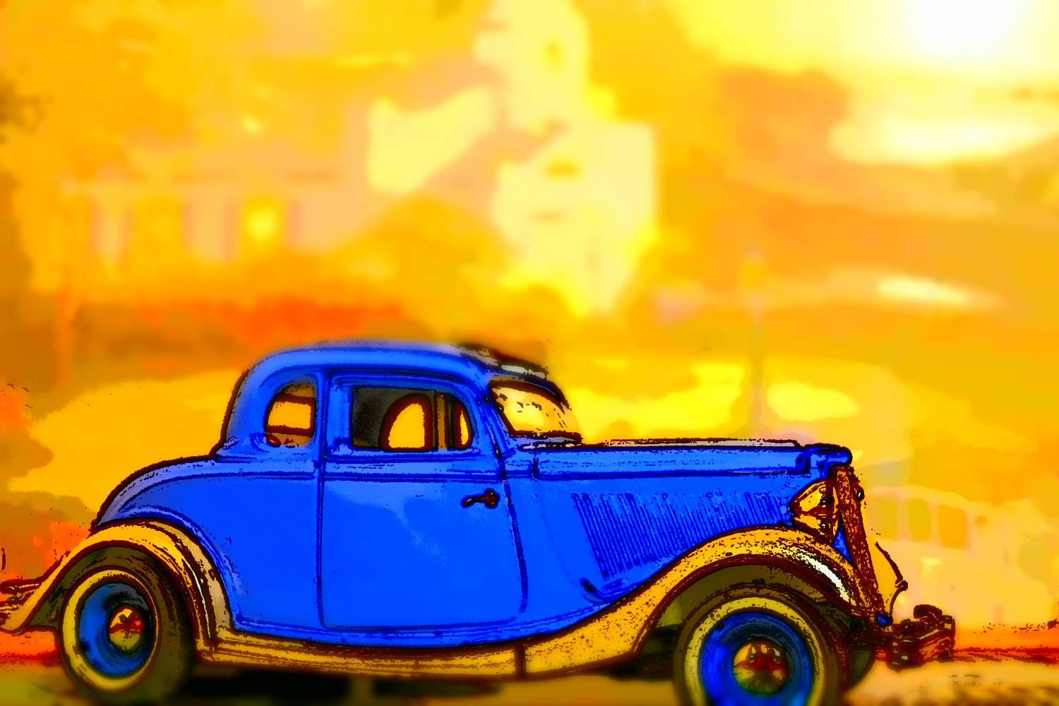 Old Fashioned Truck Wall Art Model - Wall Art Collections ...