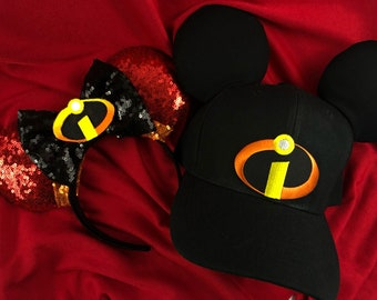 The Incredibles His and hers Ears and Hat