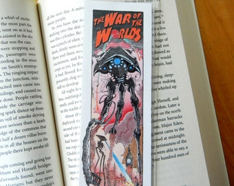 The War of the Worlds Bookmark