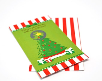 20 Christmas Tree - Christmas Scratch Off Game Pack - Holiday / Christmas Party Scratch Off Game Cards - Company Parties - Family Parties