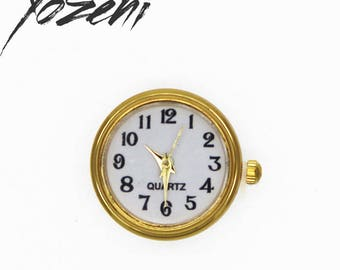Watch dial gold white snap