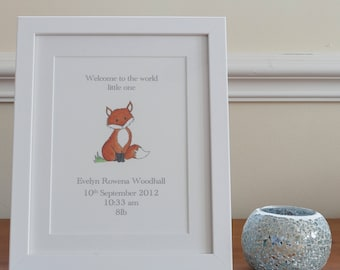 New baby gift- personalised