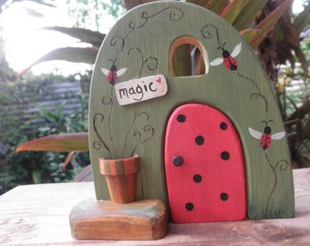Toy HABITAT-WHIMSICAL-Magic Portal- Pretend Play- Waldorf Inspired