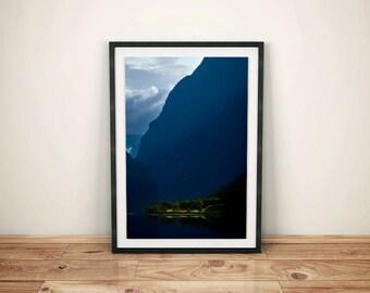dawn wall art, travel poster, photos for living room, poster for living room, digital download photography, vertical wall art