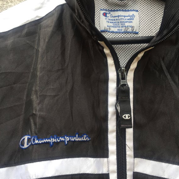 CHAMPION vintage 90s Champion Products nice spellout y1AZtr