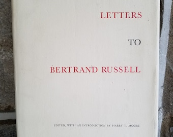 D.H. Lawrence's Letters To Bertrand Russell
