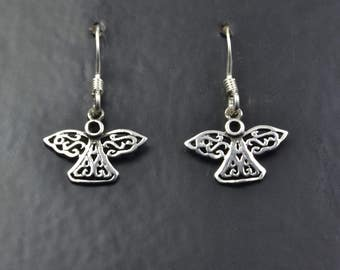 Celtic Design Sterling Silver Angels