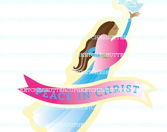Peace in Me or Peace in Christ LDS Young Women 2018 Theme Kit