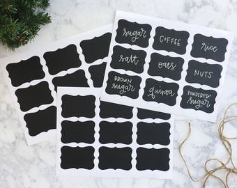 Custom Chalkboard labels