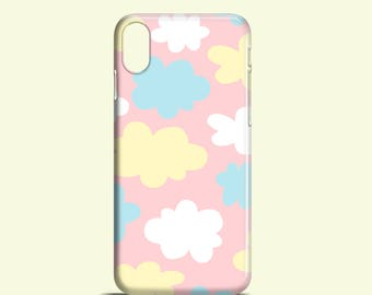 Pastel Clouds phone case / iPhone X case / iPhone 8 case / iPhone 7 case / iPhone 6/6S / iPhone 5/5S / iPhone Se / Samsung Galaxy S6 / S7