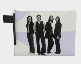 Beatles 1968 Carry-All Pouch purse, Beatles, music, band, Liverpool, England,