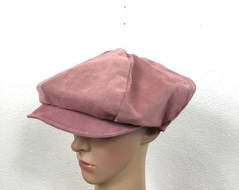 70's euro vintage newsboy cap made in italy size 7