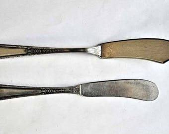 Louis XIV by Towle Sterling Silver Master and Regular Butter Spreader 1.9oz.Nice