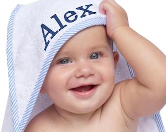Monogrammed Hooded Baby Towel, Hooded Towel Baby, Baby Hooded Towels Personalized, Baby Towels for Boys, Personalized Baby Hooded Towel