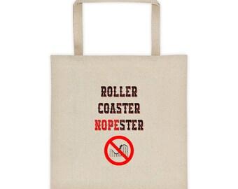 Roller coaster nopester Tote bag