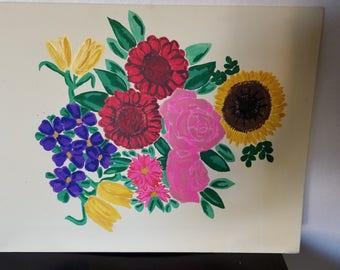 Spring in Bloom Floral Painting