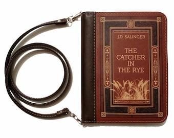 "Book clutch ""The catcher in the rye"""