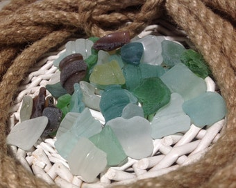 Small Sea Glass For Jewelry Crafts Sea Glass Bottle Lips Sea Glass Small  Sea Glass Raw Sea Glass Sea Glass 50 Pieces Sea Glass For Mosaic