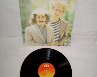 Vinyl 33 laps Simon and Garfunkel