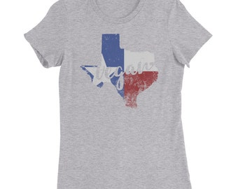 Texas Vegan Women's Next Level Slim Fit T-Shirt, several colors available