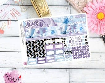 Lavender Monthly Kit for your TN A6 Annie Plans Inserts