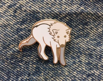 Patronus Inspired Wolf Harry Potter Enamel Pin