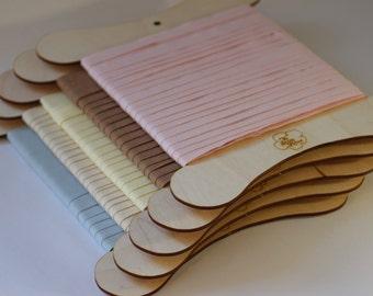 Taffeta Ribbon in 12mm width Made From 100% Organic Cotton