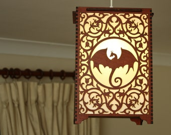 Game Of Thrones 'Dragon' lamp pendant.