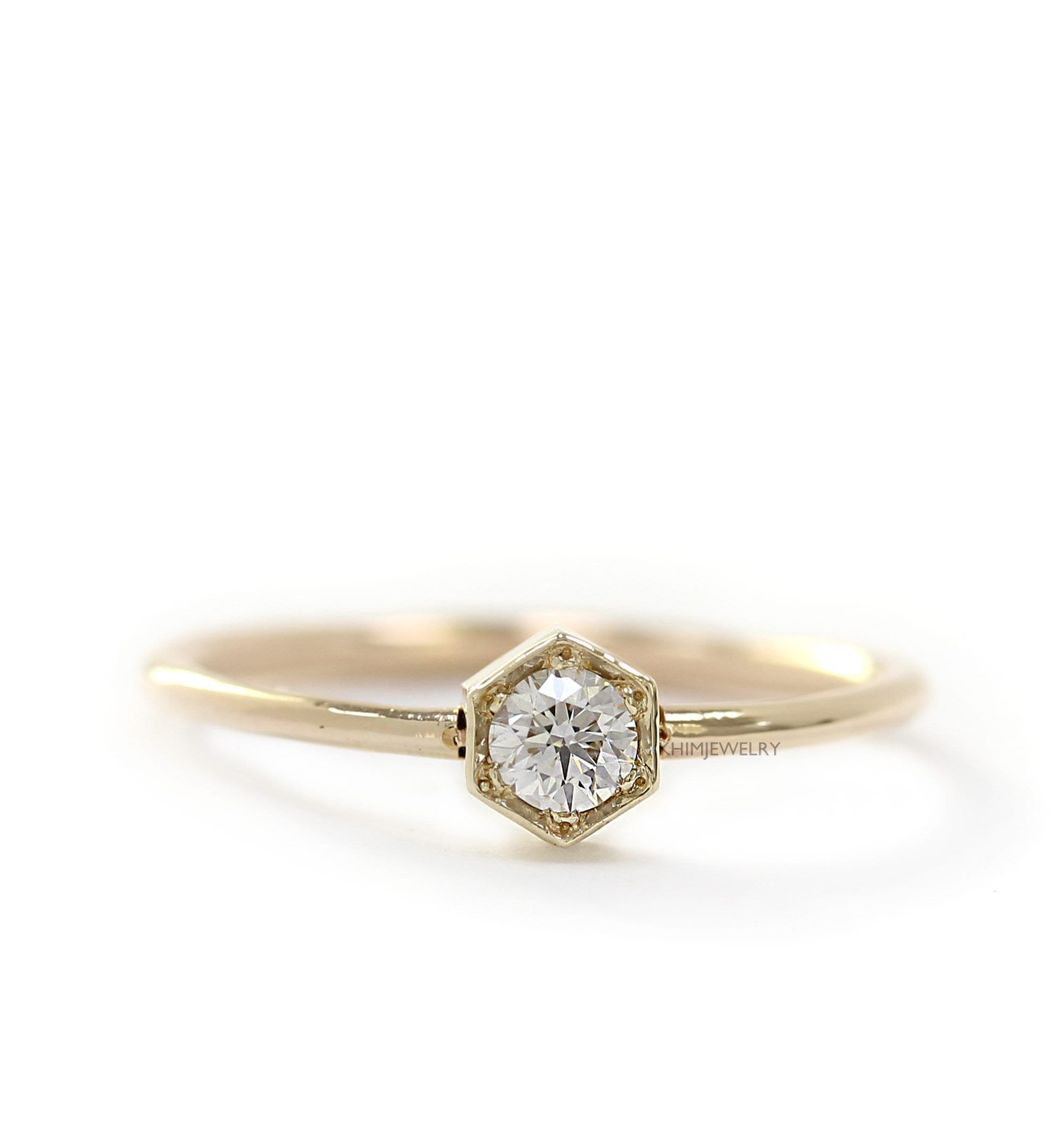 sapp champagne peach in free ring gold sadie vint halo ps profile diamond products engagement sapphire white low rings with conflict diamonds vintage side